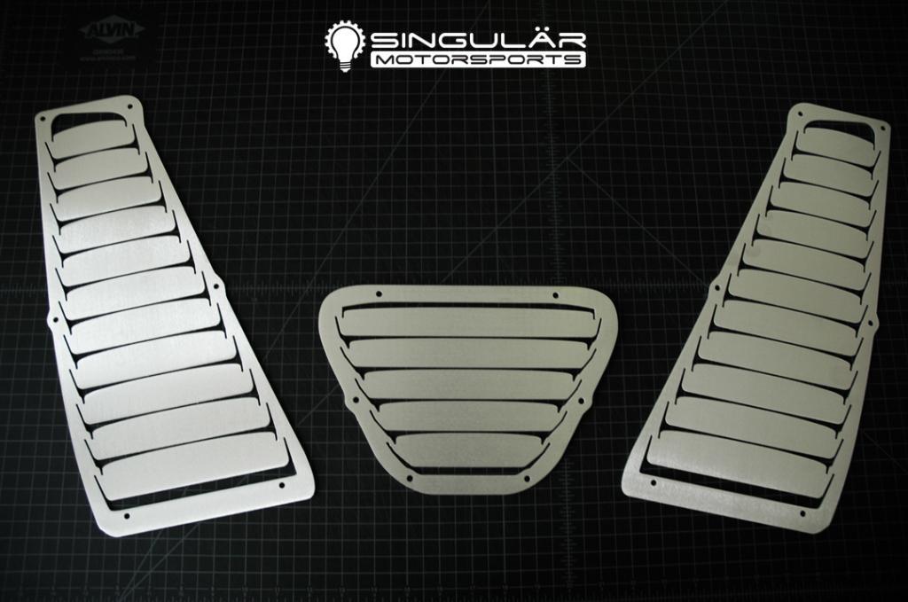 Singular Motorsports Hood Louvers Nb Miata Singular