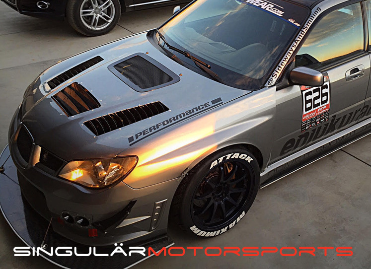 2015 Wrx Lift Kit >> Singular Motorsports Hood Louvers: Subaru WRX & STI | Singular Motorsports